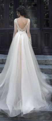 80 Adorable V Shape Back Wedding Dresses You Need to See 68