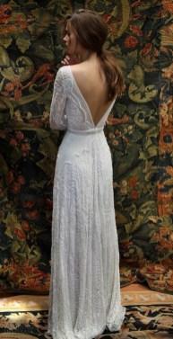 80 Adorable V Shape Back Wedding Dresses You Need to See 74