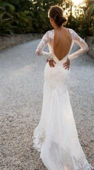 80 Adorable V Shape Back Wedding Dresses You Need to See 9