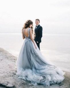 80 Colorful Wedding Dresses Ideas 03