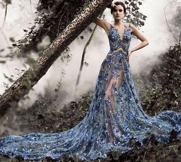 80 Colorful Wedding Dresses Ideas 05