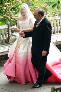 80 Colorful Wedding Dresses Ideas 07