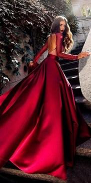 80 Colorful Wedding Dresses Ideas 11