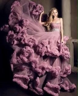 80 Colorful Wedding Dresses Ideas 22