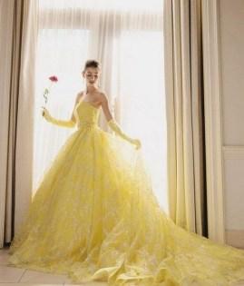 80 Colorful Wedding Dresses Ideas 24
