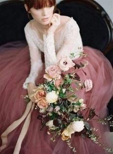 80 Colorful Wedding Dresses Ideas 46