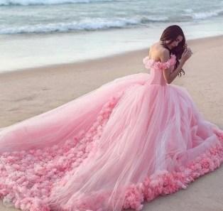80 Colorful Wedding Dresses Ideas 47