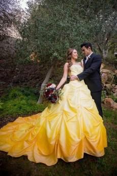 80 Colorful Wedding Dresses Ideas 48