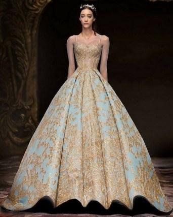 80 Colorful Wedding Dresses Ideas 59