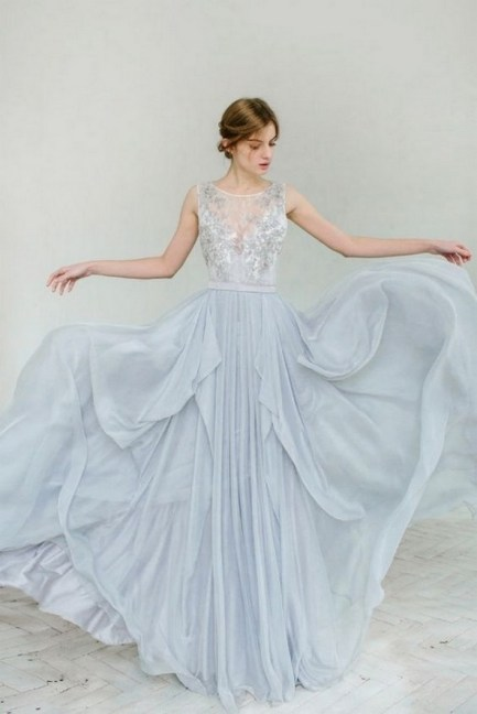 80 Colorful Wedding Dresses Ideas 74