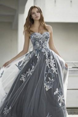 80 Colorful Wedding Dresses Ideas 81