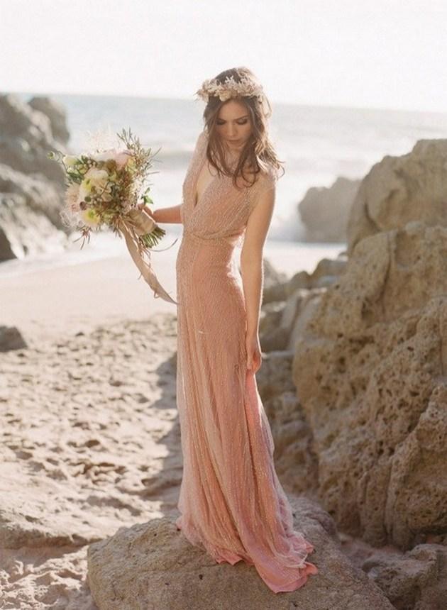 80 Inspiring Beautiful Sequin Bridal Gown 12