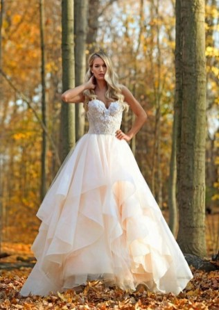 80 Inspiring Beautiful Sequin Bridal Gown 14