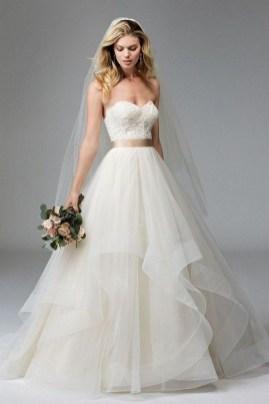 80 Inspiring Beautiful Sequin Bridal Gown 35
