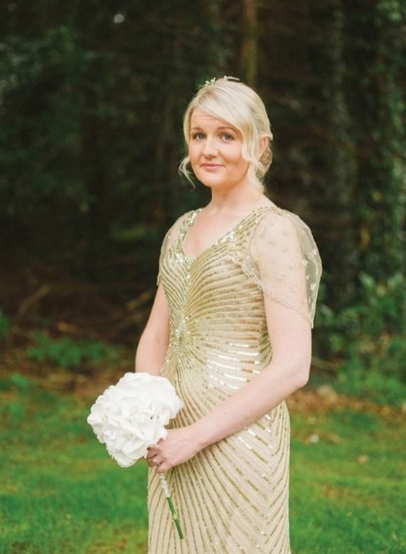 80 Inspiring Beautiful Sequin Bridal Gown 38