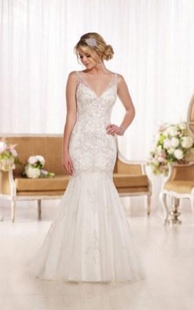 80 Inspiring Beautiful Sequin Bridal Gown 4