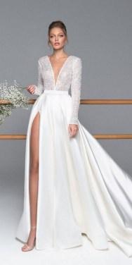 80 Inspiring Beautiful Sequin Bridal Gown 43