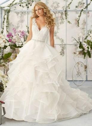 80 Inspiring Beautiful Sequin Bridal Gown 46