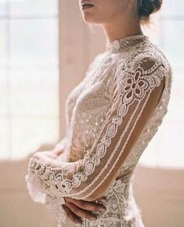 80 Inspiring Beautiful Sequin Bridal Gown 54