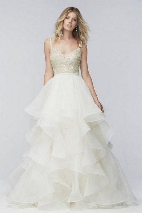 80 Inspiring Beautiful Sequin Bridal Gown 64