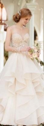 80 Inspiring Beautiful Sequin Bridal Gown 67