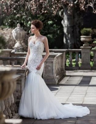 80 Inspiring Beautiful Sequin Bridal Gown 69