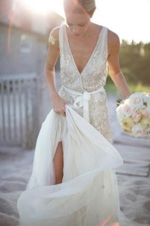 80 Inspiring Beautiful Sequin Bridal Gown 72