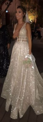 80 Inspiring Beautiful Sequin Bridal Gown 8