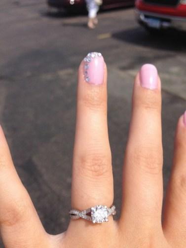 80 The Most Elegant Wedding Nail Art 13