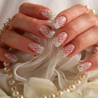 80 The Most Elegant Wedding Nail Art 16