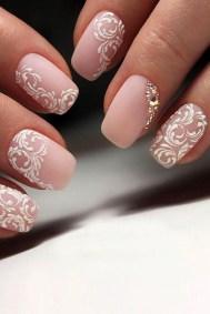 80 The Most Elegant Wedding Nail Art 27