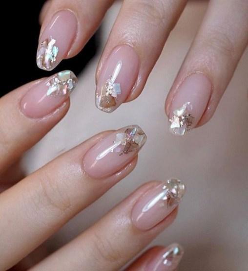 80 The Most Elegant Wedding Nail Art 30