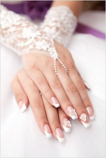 80 The Most Elegant Wedding Nail Art 50