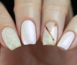 80 The Most Elegant Wedding Nail Art 55
