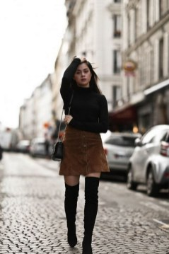 80 Thigh High Boots Outfit Street Style Ideas 10