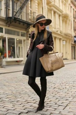 80 Thigh High Boots Outfit Street Style Ideas 54