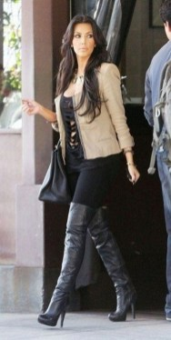 80 Thigh High Boots Outfit Street Style Ideas 60