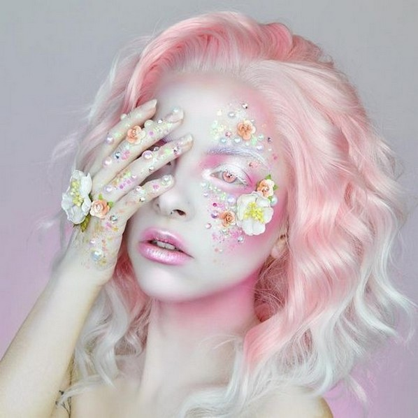 40 Fairy Fantasy Makeup for Halloween Party Ideas 01
