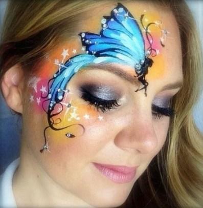 40 Fairy Fantasy Makeup for Halloween Party Ideas 06
