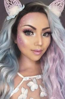 40 Fairy Fantasy Makeup for Halloween Party Ideas 08