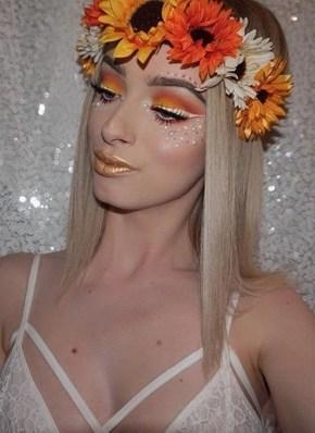 40 Fairy Fantasy Makeup for Halloween Party Ideas 12