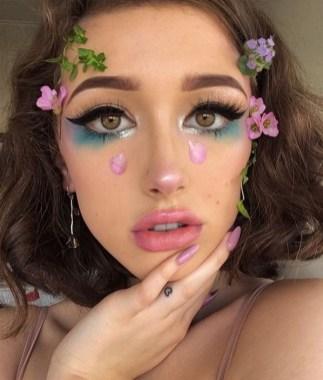 40 Fairy Fantasy Makeup for Halloween Party Ideas 17