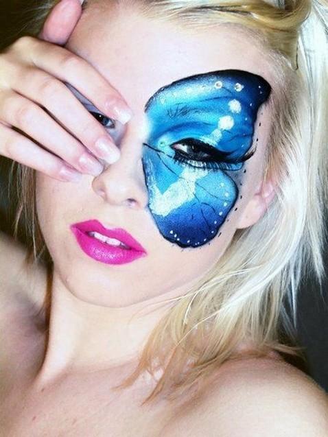 40 Fairy Fantasy Makeup for Halloween Party Ideas 29