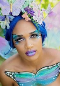 40 Fairy Fantasy Makeup for Halloween Party Ideas 30