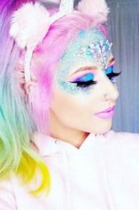 40 Fairy Fantasy Makeup for Halloween Party Ideas 32
