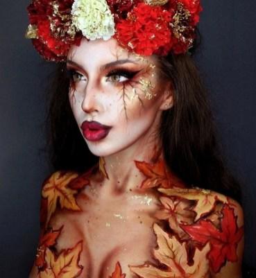 40 Fairy Fantasy Makeup for Halloween Party Ideas 39