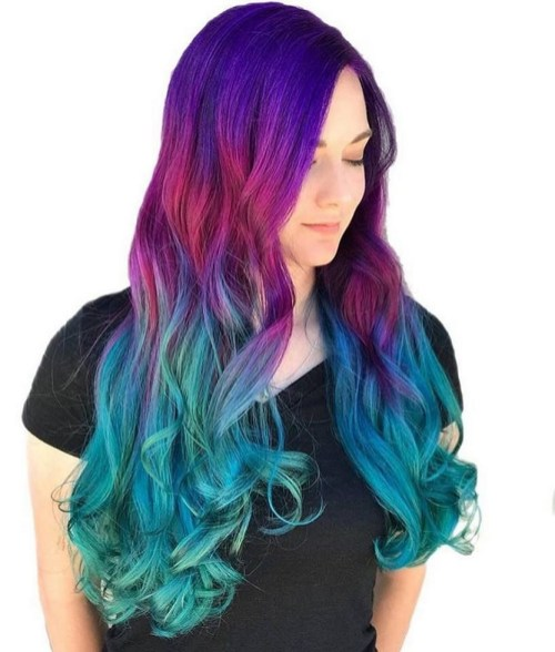 40 Fantastic Hair Color Combinations You Need To See 01