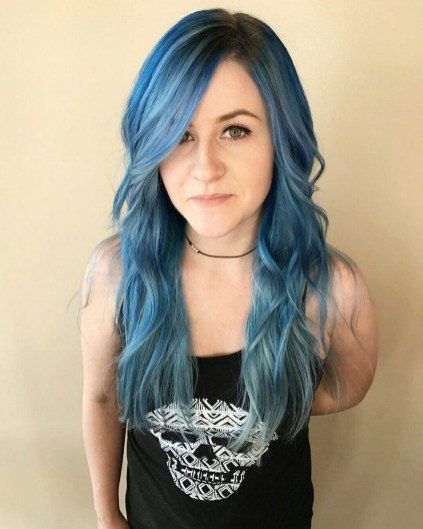 40 Fantastic Hair Color Combinations You Need To See 18