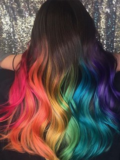 40 Fantastic Hair Color Combinations You Need To See 21