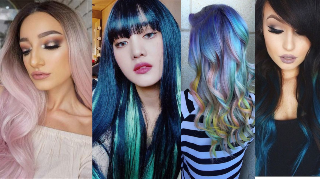 40 Fantastic Hair Color Combinations You Need To See
